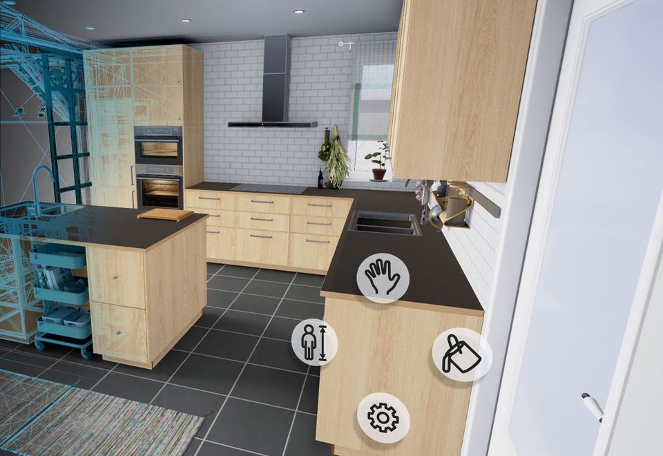 IKEA offers to design a kitchen using VR-application – GlobalVR