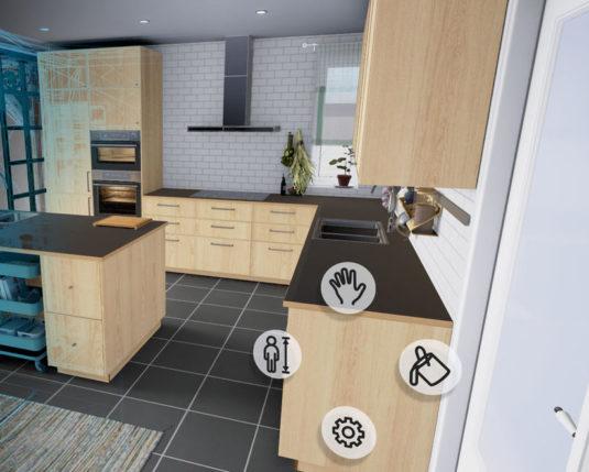 IKEA предлагает спроектировать кухню с помощью VR-приложения
